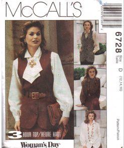 McCalls 6728 M