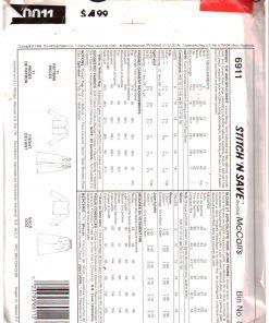 McCalls 6911 M 1