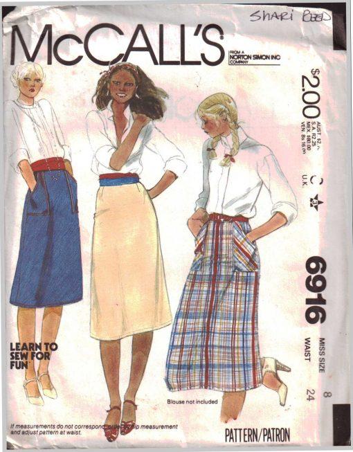 McCalls 6916