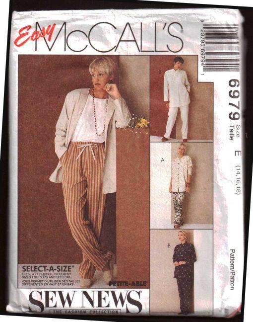 McCalls 6979 M