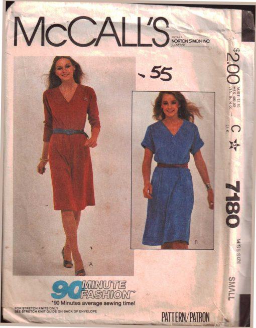 McCalls 7180 M