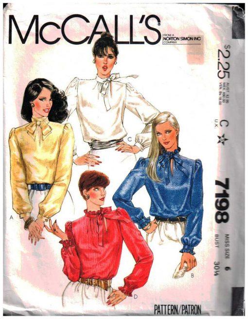 McCalls 7198