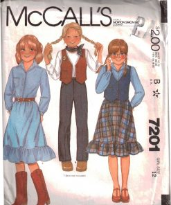 McCalls 7201 M