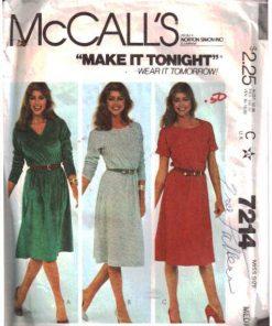McCalls 7214