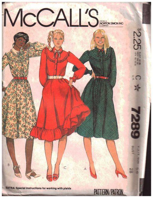 McCalls 7289