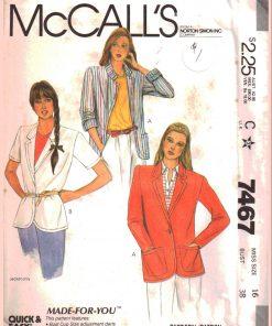 McCalls 7467