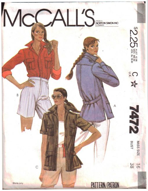 McCalls 7472