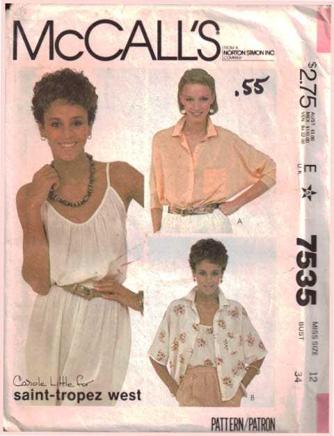 McCalls 7535