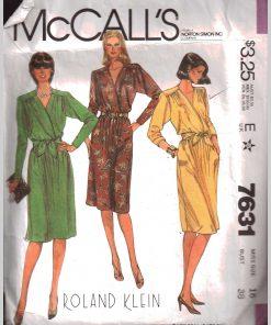 McCalls 7631 M