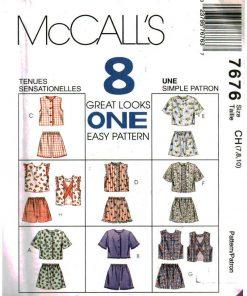 McCalls 7676