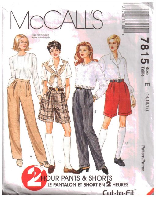 McCalls 7815 2
