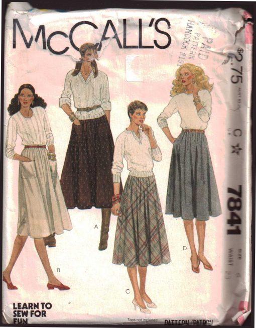 McCalls 7841 M