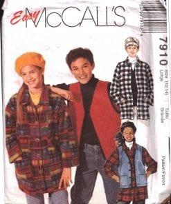 McCalls 7910 M