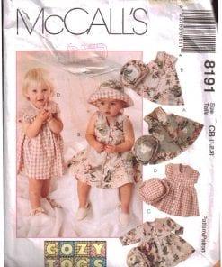 McCalls 8191 M