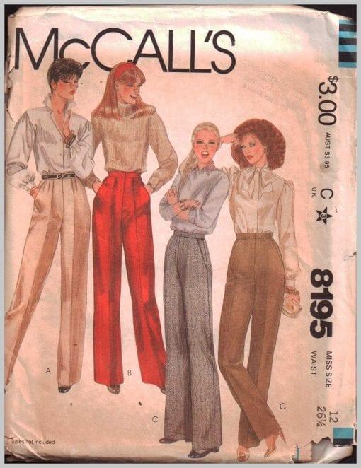 McCalls 8195 M