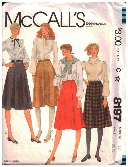 McCalls 8197 M