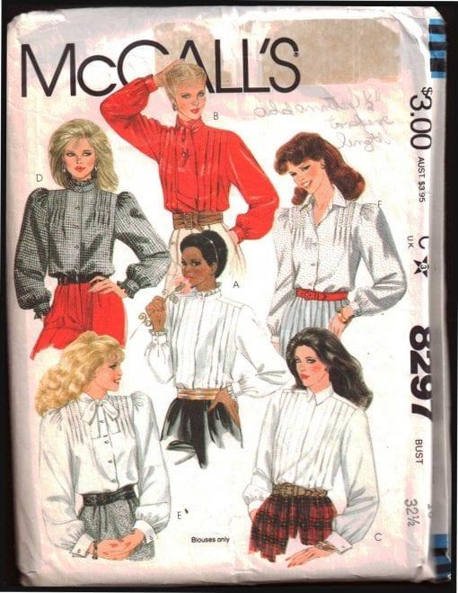 McCalls 8297 M
