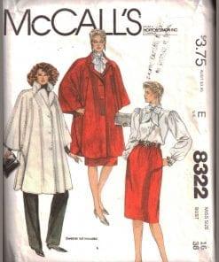 McCalls 8322 M