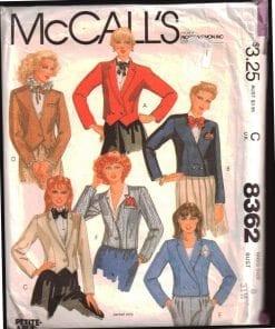 McCalls 8362 M