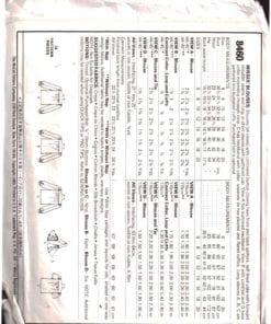 McCalls 8460 M 1