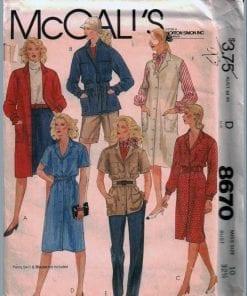 McCalls 8670