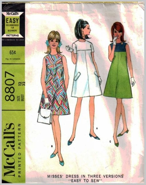 McCalls 8807