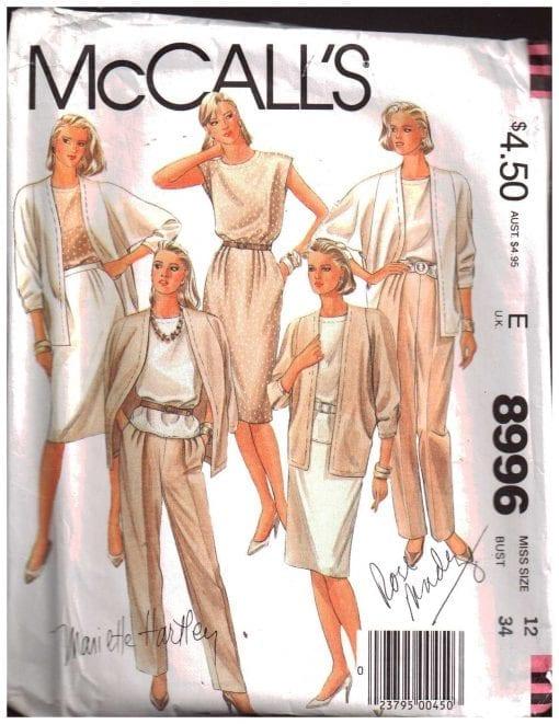 McCalls 8996 M