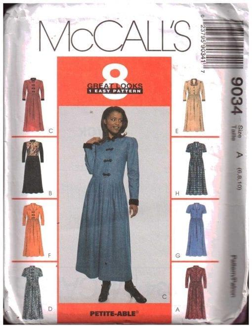 McCalls 9034 M