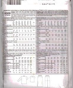 McCalls 9309 1