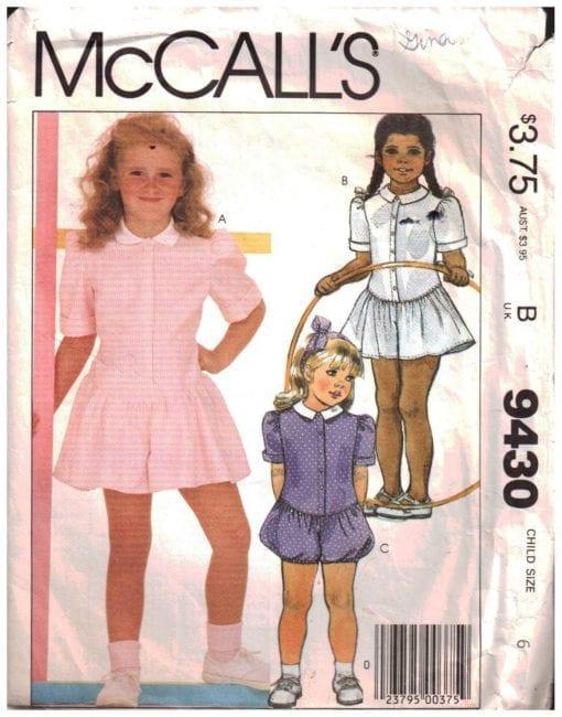 McCalls 9430
