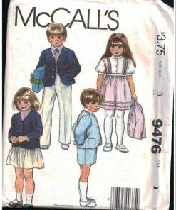 McCalls 9476
