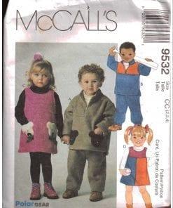 McCalls 9532 M