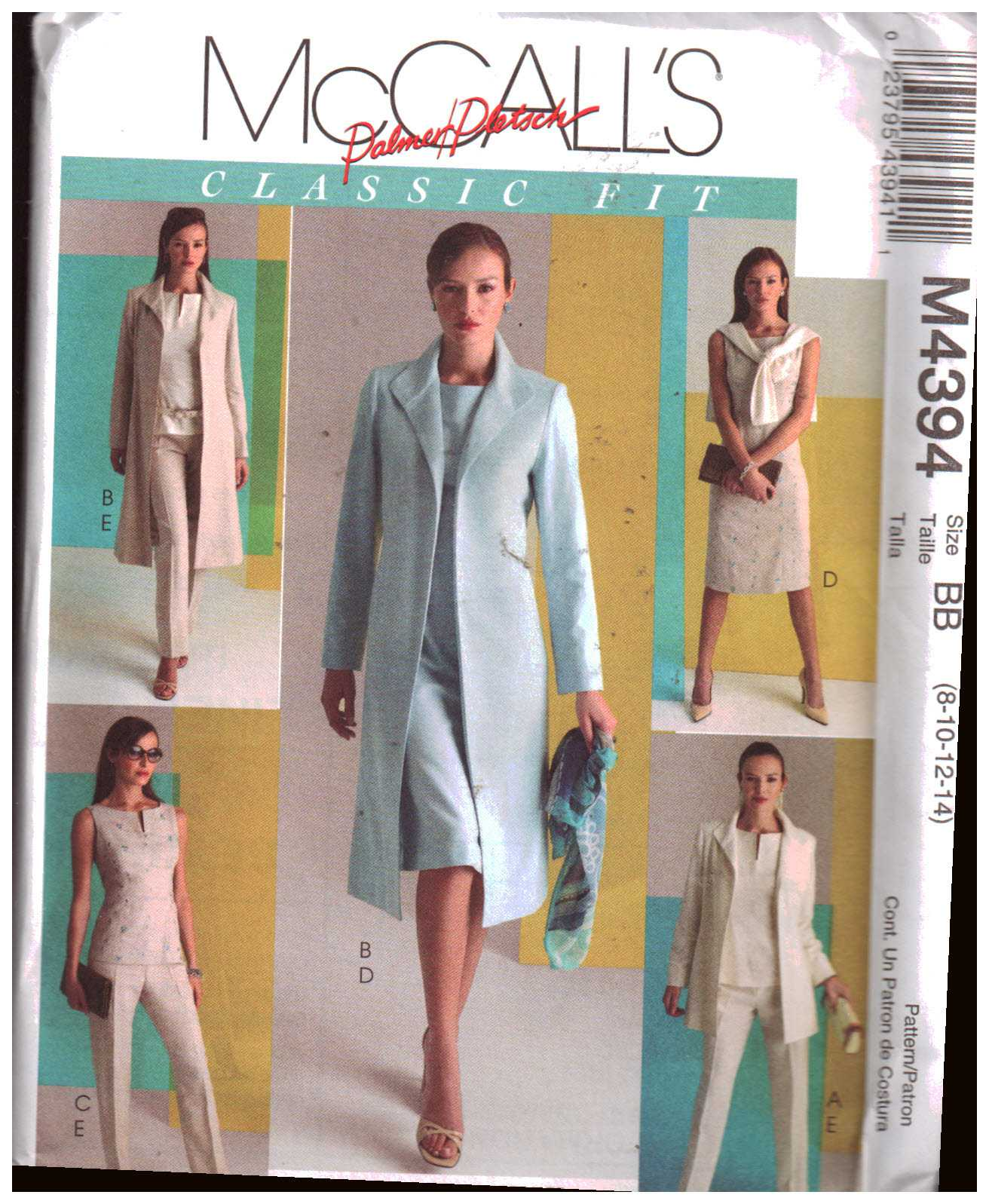 NEW McCALLS SEWING PATTERN R10450 M8048 MISSES JACKETS Sz 14-16-18-20-22