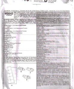 McCalls M5642 M 1.