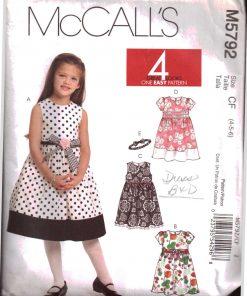 McCalls M5792