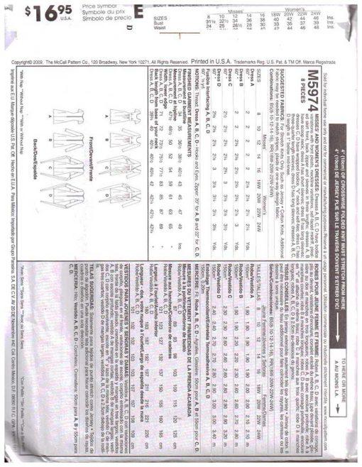 McCalls M5974 1