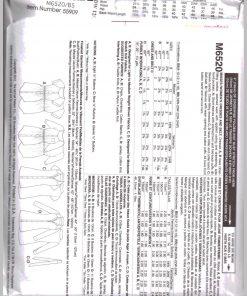 McCalls M6520 1