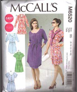 McCalls M6520