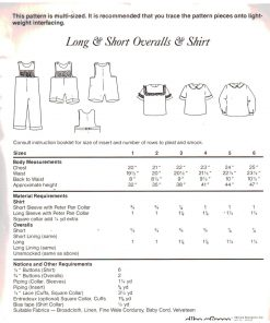 Chery Williams Long Short Overalls 1