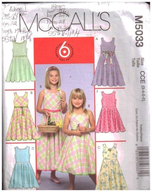 McCalls M5033 M