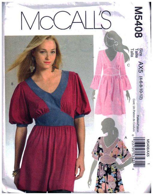 McCalls M5408