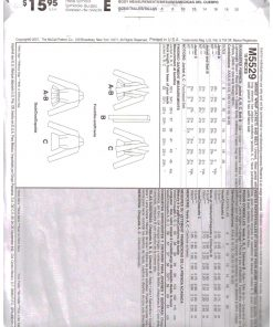 McCalls M5529 M 1
