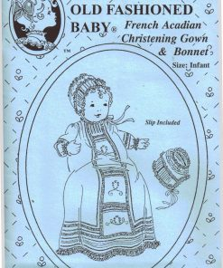 Old Fashioned Baby Christening Gown and Bonnet