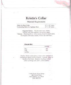 Petite Poche Kristins Collar 1