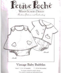 Petite Poche Vintage Baby Bubbles
