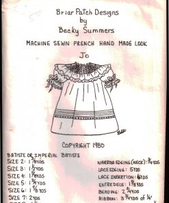 Briar Patch Designs Machine Sewn