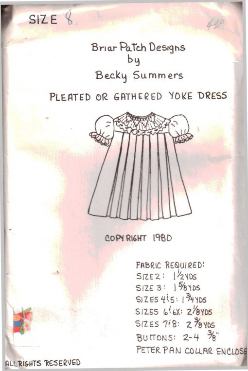 Briar Patch Designs Pleated