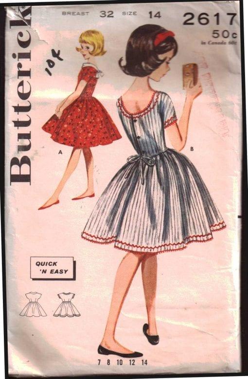 Butterick 2617 J