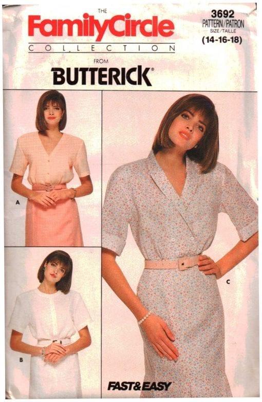 Butterick 3692 J