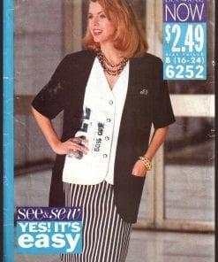 Jackets, Coats, Capes Sewing Patterns
